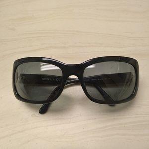 DKNY black sunglasses